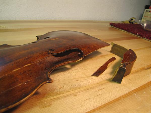 Violin Restoration in Philadelphia
