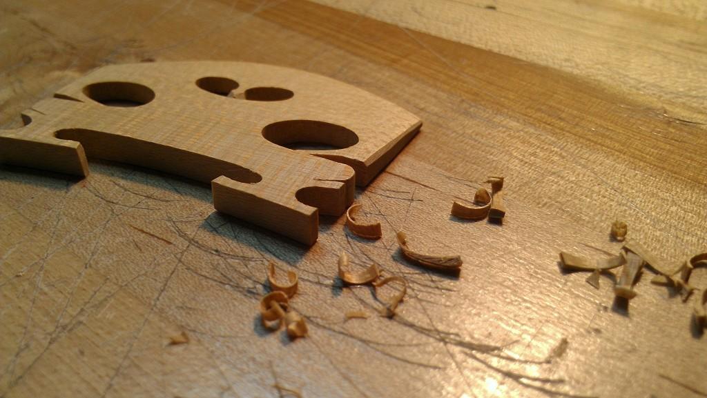 Violin Bridge Setup - String Instrument Setup Services