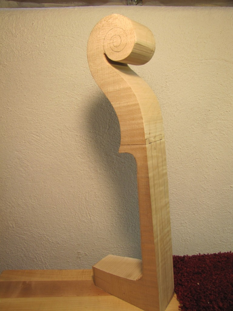 Cello cut out