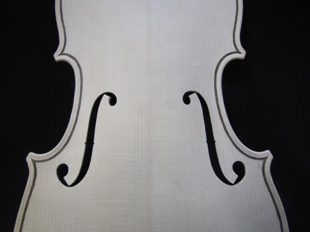 Viola F-holes